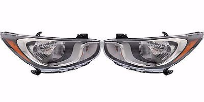 TIFFIN PHAETON 2015 2016 2017 PAIR SET FRONT HEAD LIGHTS LAMPS HEADLIGHTS RV