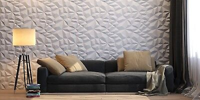 Crag 3d Decorative Wall Panels 1 Pcs Abs Plastic Mold For Plaster