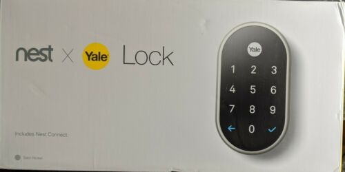 Nest X Yale - Smart Lock with Nest Connect - Satin Nickel Br