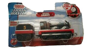NEW THOMAS & FRIENDS TRACK MASTER ORIGINAL JAMES PUSH ALONG METAL ENGINE 2018
