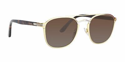 ed12c7d606607 Cartier Platinum Gold Sunglasses Signature CT0012S 002 France 54mm Authentic  New