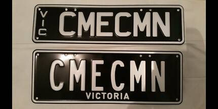 Personalised Victorian number plates CMECMN Brand New St Albans Brimbank Area Preview
