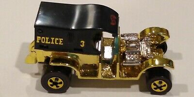 Hot Wheels Vintage  Paddy Wagon Gold china