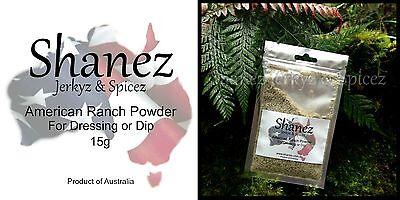 RANCH DRESSING Buttermilk Shanez DIP POWDER MIX~105g~ Better Than Hidden Valley Hidden Valley Buttermilk Ranch