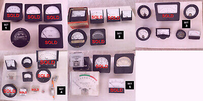 Vintage Analog Panel Meter Virtual Orchard - Pick Your Own