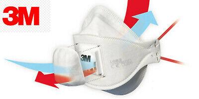 3M Aura Atemschutzmaske 1883+ FFP3 Schutzmaske Gesichtsmaske Mundschutz Ventil