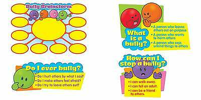 Lets Talk about Bullying Bulletin Board Classroom Display Set (About Bulletin Board Set)