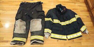 Black Globe Turnout Gear 44 Coat 40 Pants