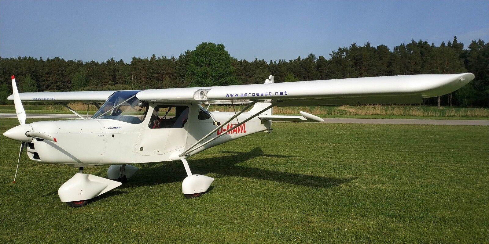 Ultraleichtflugzeug Sila 450 C mit Rotax 912 ULS Bj.2016