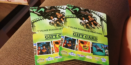 Gold Coast Theme Park Gift Cards