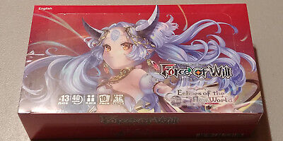 Force Of Will Lot Collection With 4 Sealed Boosters Foils Full Arts FOW TCG MORE