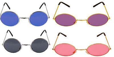 John Lennon Style Sunglasses Ozzy Osbourne Hippy 70's 80's Fancy Dress Glasses (Ozzy Style Glasses)