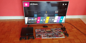 """*FREE* Nintendo DS XL . LG 50"""" LED TV 1080p with PS3 10 games"""