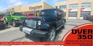 2013 Jeep WRANGLER UNLIMITED Sahara- FINANCE PRICE ONLY