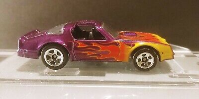 Hot Wheels 1:64 Pontiac Firebird HOT BIRD (Purple)