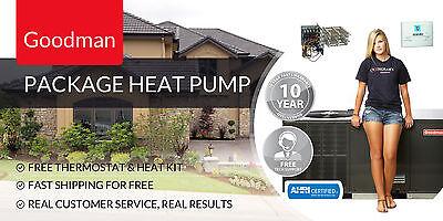 3.5 Ton 14 Prophet Wrap Heat Pump Goodman GPH1442H41