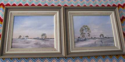 Pair of Paintings by Sally Bardsley
