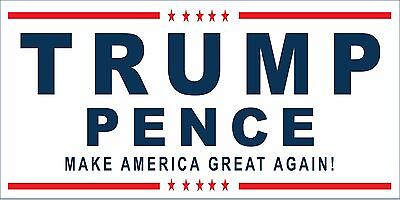 2X4 Donald Trump Mike Pence 2016 Vinyl Banner Sign Presidential Election