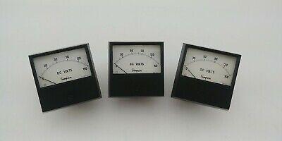 Simpson 0-150 Dc Volts Analog Meter Sku 21222123 Lot Of 3