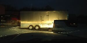 2008 - 22' enclosed fifth wheel cargo trailer
