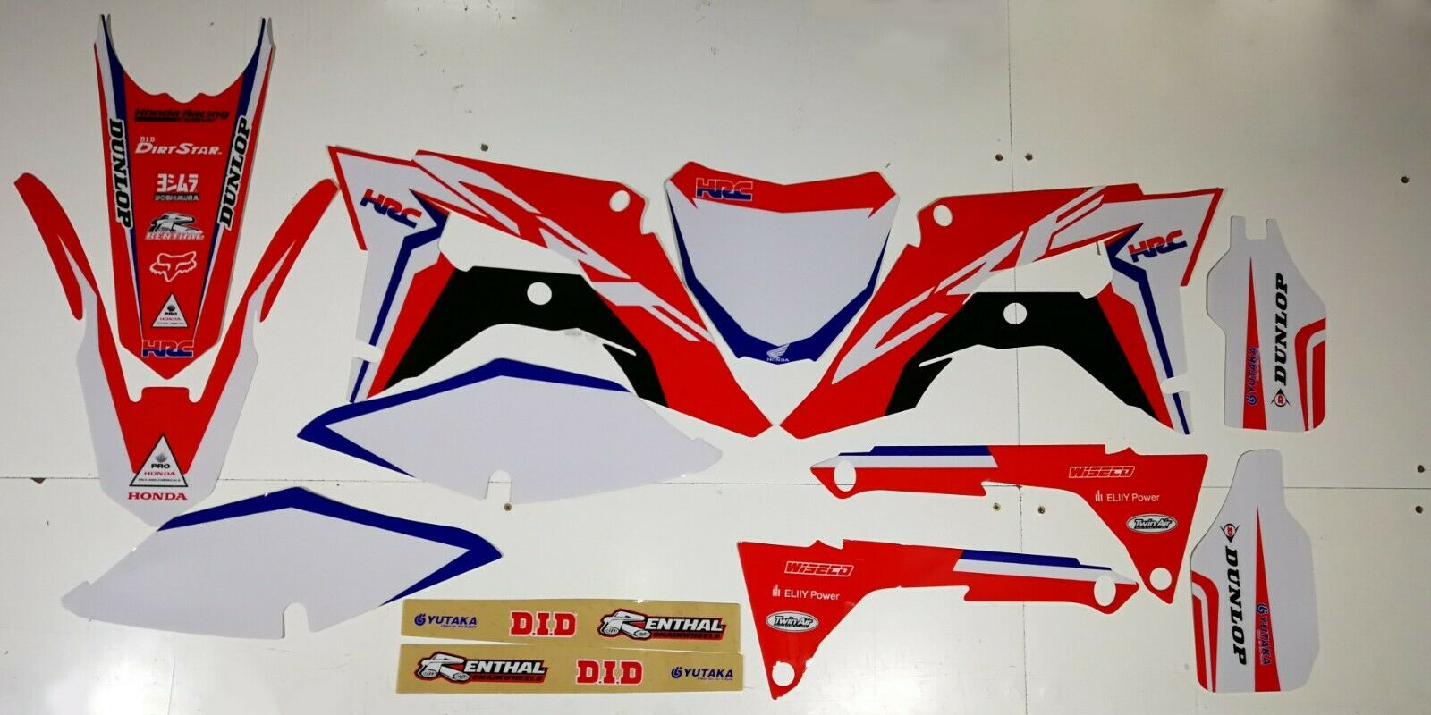 Hrc Honda Graphics Kit Crf 250 2018 2019 Crf 450 2017
