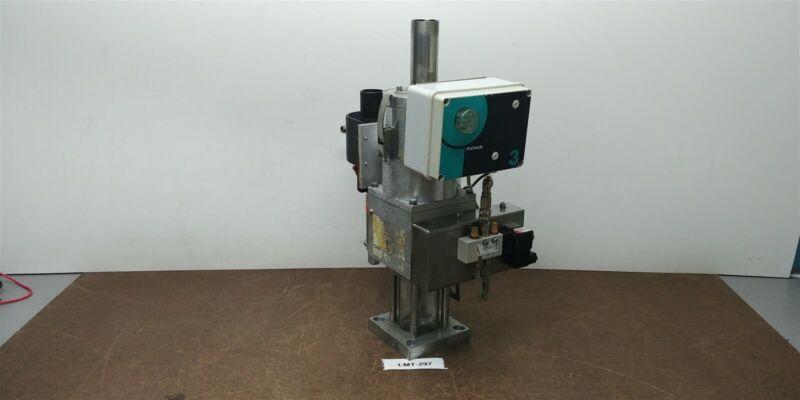 Piovan GR1 10kg Spec A038 Mini Hopper Vacuum Loader Glass Receiver 230v #297