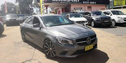 2014 Mercedes-Benz CLA200 7Sp Auto 4 Door Coupe, LOW KMS, #916 Revesby Bankstown Area Preview
