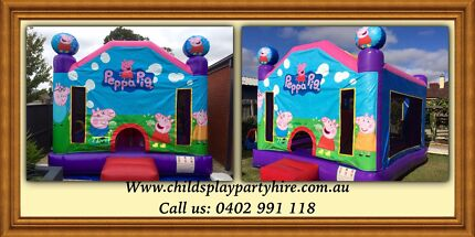Jumping Castle Hire from $110 All Day Roxburgh Park Hume Area Preview