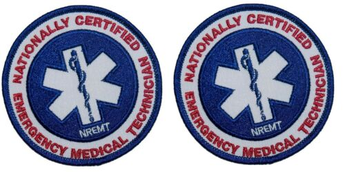 NREMT Emergency Medical Technician National Nationally Certified Registered 2 Pk