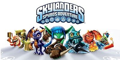 Skylanders Spyros Adventure Figures Xbox Wii U Ps3 Ps4
