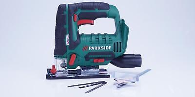 Stichsäge mit Akku und Ladegerät PSTDA 20-Li A1 Parkside Pendelhubstichsäge