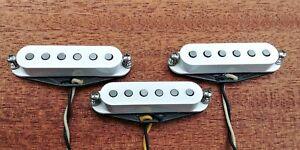 Handwound Strat Pickups for Stratocaster Guitar ALNICO 5 Custom Stagger