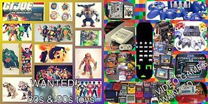 WANTED: VIDEO GAMES AND SYSTEMS & 80s/90s toys Newcastle Newcastle Area Preview