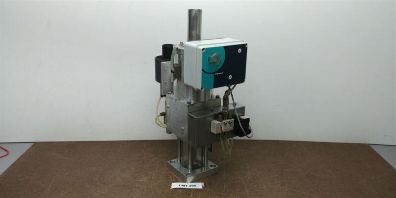 Piovan GR1 10kg Spec A038 Mini Hopper Vacuum Loader Glass Receiver 230v #295