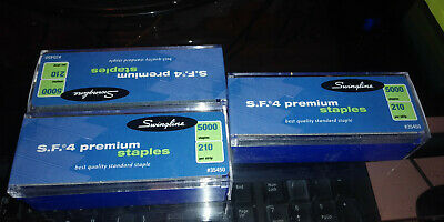 3 Packs New Swingline S.f.4 Premium Staples 5000 Each210 Per Strip 35450