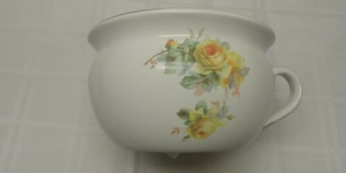 Vintage  Pottery Wash Basin Chamber Pot,