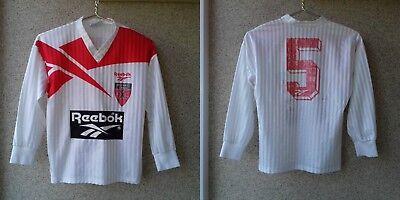 Neuchâtel Xamax FC Away football shirt 1993/1994 Jersey XS Soccer Reebok OLD  image