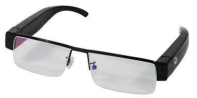 Safety Technology Eye Glasses Hidden Spy Cam w/ Builtin DVR HC-EYEHD-DVR (Spy Safety Glasses)