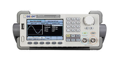 Siglent Waveform Function Generator Counter Sdg5082 2chs 80mhz 500msas 16k512k