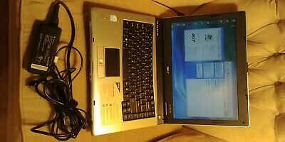 "Acer TravelMate 2480 14.1"" 2GB RAM 80GB HDD Windows XP Laptop PC"