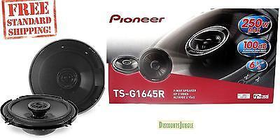 "BRAND NEW PAIR Pioneer TS-G1645R 2-Way 6.5"" Car Speaker 250W 6 1/2 inch TSG1645R"
