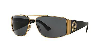 Versace Mens Sunglasses (VE2163) Metal  Polarized