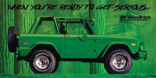 REPRODUCTION BF GOODRICH Banner 1971 FORD BRONCO 4