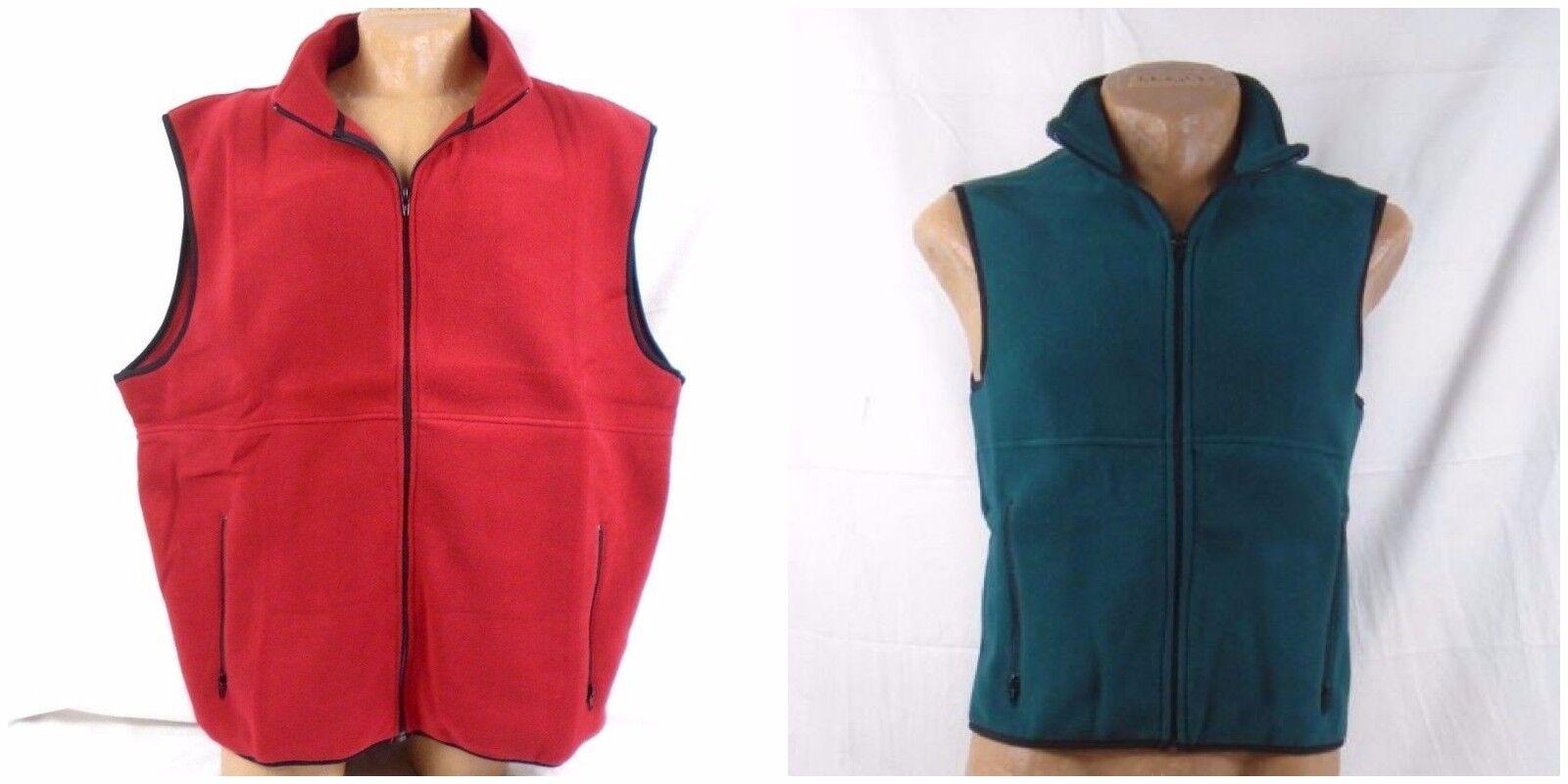 Port Authority R-Tek Zipper Pocket Fleece Vest JP79 237UN