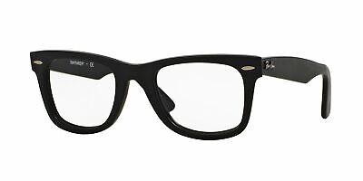 Ray Ban Wayfarer Eyeglasses RX5121F 2477 50mm Matte Black/Demo Lens (Ray Ban Wayfarer Eyeglasses)
