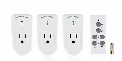 Century Wireless Remote Control Electrical Outlet Switch for Household