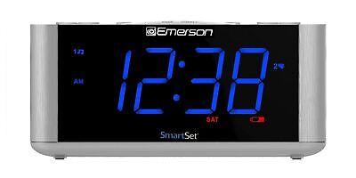 Emerson SmartSet Alarm Clock Radio, USB port for iPhone/iPad