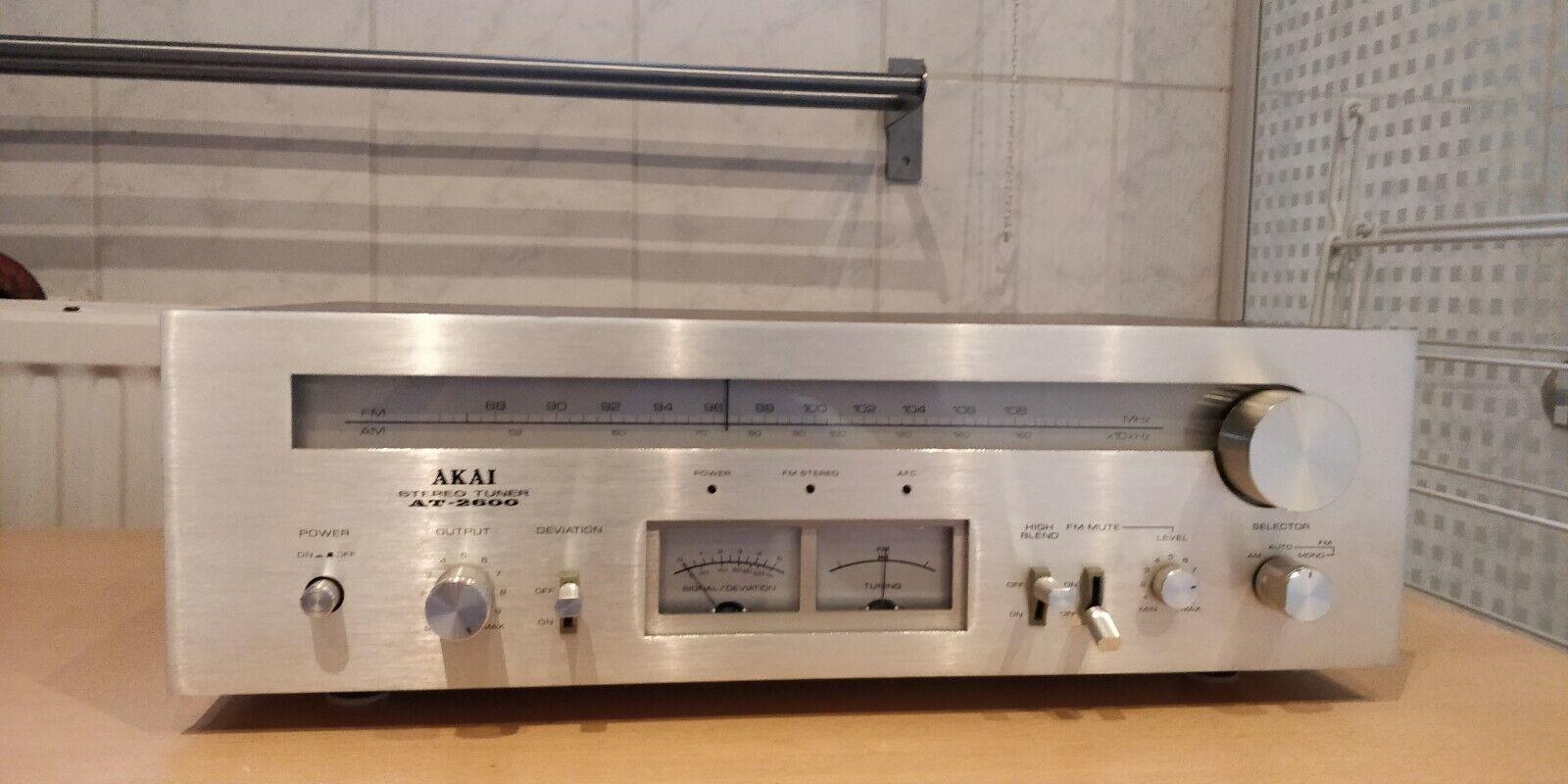 Akai AT-2600 Stereo Tuner (1976-79)
