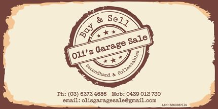 Oli's Garage Sale Secondhand & Collectables  Derwent Park Glenorchy Area Preview