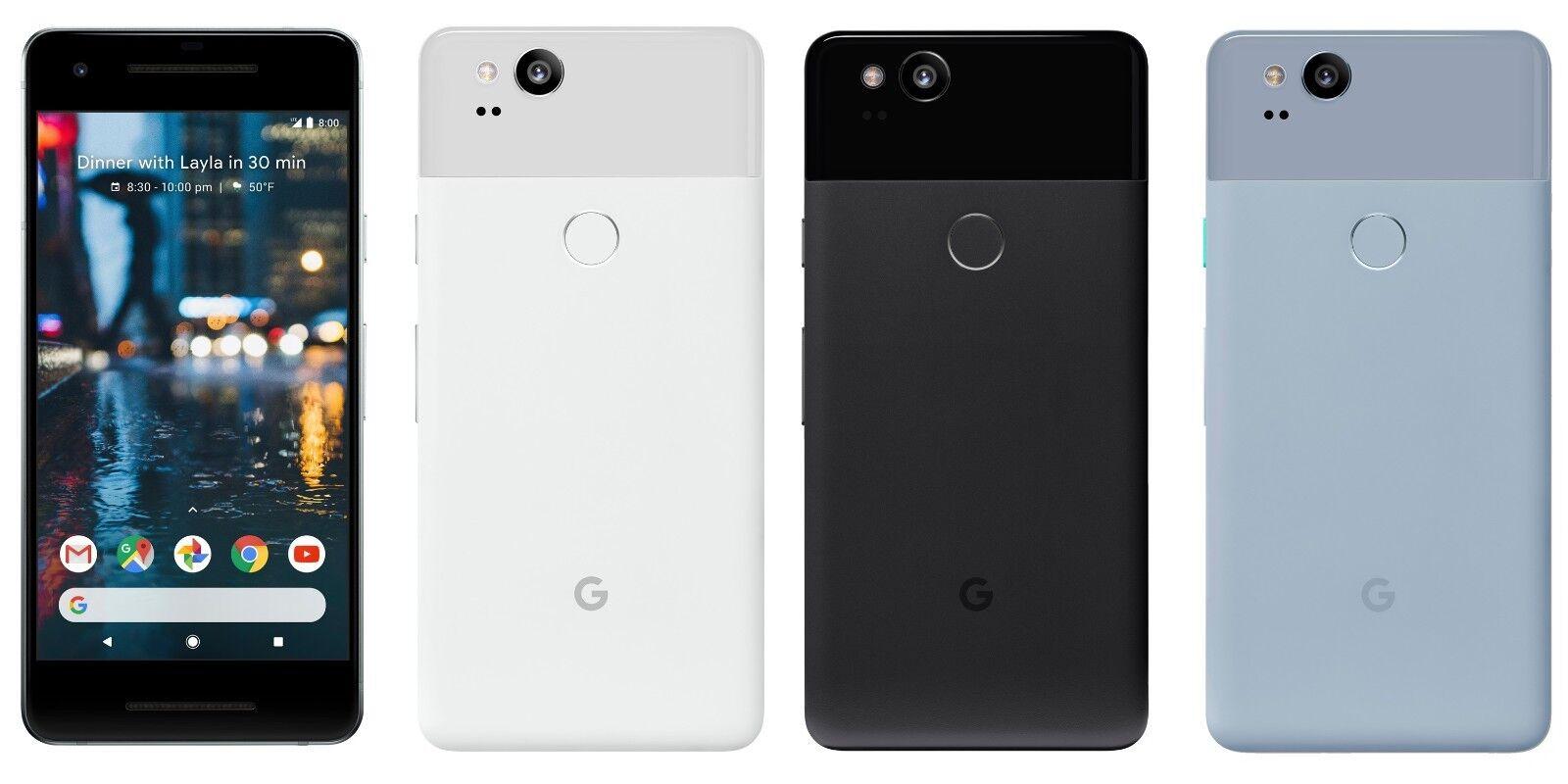BRAND NEW Google Pixel 2 AND Google Pixel XL 2 FACTORY UNLOCKED 64/128 GB, 4 GB